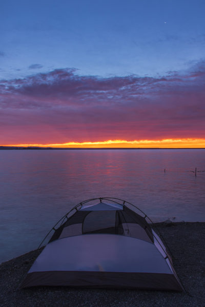 sunrise, camping, free travel, travel, tent camping